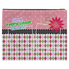 Cherish Every Little Moment  By Digitalkeepsakes   Cosmetic Bag (xxxl)   Kgd3lfseidyf   Www Artscow Com Back