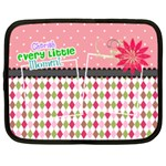 Cherish every little moment. - Netbook Case (Large)