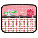 Cherish every little moment. - Netbook Case (XL)