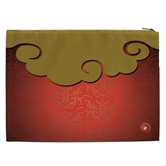 Christmas & New Year Cosmetic Bag (xxl)  By Joanne5   Cosmetic Bag (xxl)   4ebe2geiw9rp   Www Artscow Com Back