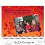 2013 calender - Wall Calendar 11  x 8.5  (12-Months)
