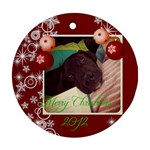 stanley - Ornament (Round)