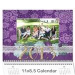 Calendar 2013 for Jisca - Wall Calendar 11  x 8.5  (12-Months)