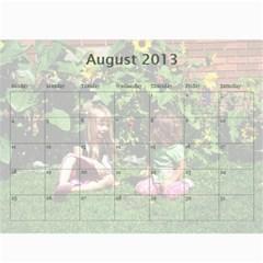 Calendar 2013 For Jisca By Elizabeth Marcellin   Wall Calendar 11  X 8 5  (12 Months)   Julxwiy3851s   Www Artscow Com Aug 2013