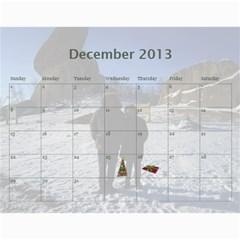 Calendar 2013 For Jisca By Elizabeth Marcellin   Wall Calendar 11  X 8 5  (12 Months)   Julxwiy3851s   Www Artscow Com Dec 2013