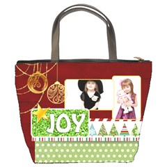 Merry Christmas By Jo Jo   Bucket Bag   7lsi4o4eky19   Www Artscow Com Back