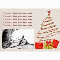 5  X 7  Photo Cards Xmas 02 By Deca   5  X 7  Photo Cards   Ixn80v0ngpao   Www Artscow Com 7 x5 Photo Card - 1