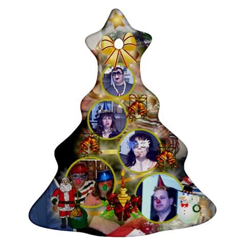 Elxa Pr 1 By Dimana Genova   Ornament (christmas Tree)    Sh3fp1rfxk53   Www Artscow Com Front