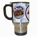 vball mug - Travel Mug (White)