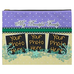 My Beautiful Family By Digitalkeepsakes   Cosmetic Bag (xxxl)   6ey58e17xsc6   Www Artscow Com Front