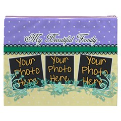 My Beautiful Family By Digitalkeepsakes   Cosmetic Bag (xxxl)   6ey58e17xsc6   Www Artscow Com Back