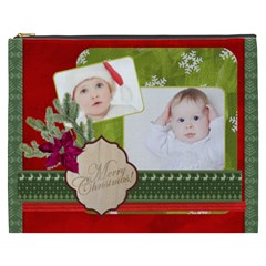 Merry Christmas By Betty   Cosmetic Bag (xxxl)   7jdifbeg8l05   Www Artscow Com Front