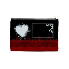 Love By Digitalkeepsakes   Cosmetic Bag (medium)   2ve0r5o6tm3x   Www Artscow Com Back