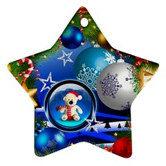Christmas(two Sides) By Joanne5   Star Ornament (two Sides)   3u011aq34k77   Www Artscow Com Back