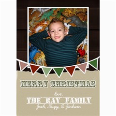 Christmas 2012 By Suzy Ray   5  X 7  Photo Cards   Ppv1tgbzmo7w   Www Artscow Com 7 x5 Photo Card - 8