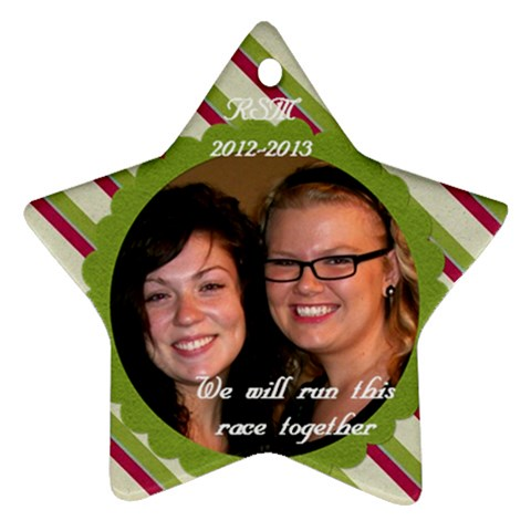 Cayla  By Connie Jennings   Ornament (star)   813eydazlk2o   Www Artscow Com Front