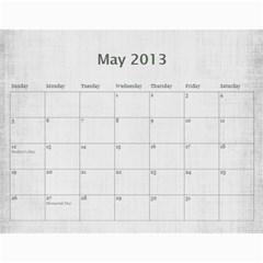 Sisters Calendar For Nesi By Debra Macv   Wall Calendar 11  X 8 5  (12 Months)   Yg0rp66cfukr   Www Artscow Com May 2013