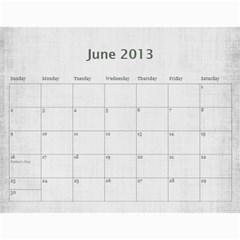Sisters Calendar For Nesi By Debra Macv   Wall Calendar 11  X 8 5  (12 Months)   Yg0rp66cfukr   Www Artscow Com Jun 2013