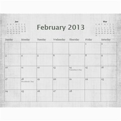 Sisters Calendar For Nesi By Debra Macv   Wall Calendar 11  X 8 5  (12 Months)   Yg0rp66cfukr   Www Artscow Com Feb 2013