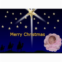 Wise Men Christmas Photo Card By Kim Blair   5  X 7  Photo Cards   D6etwl3pnj2z   Www Artscow Com 7 x5  Photo Card - 1