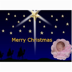 Wise Men Christmas Photo Card By Kim Blair   5  X 7  Photo Cards   D6etwl3pnj2z   Www Artscow Com 7 x5  Photo Card - 7