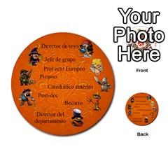 Carcayú By Javier Jimenez Escalante   Multi Purpose Cards (round)   Dbzkjf9l9xgg   Www Artscow Com Front 51