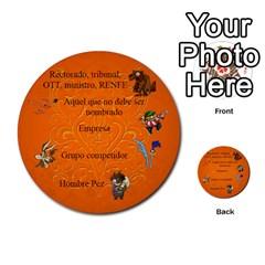 Carcayú By Javier Jimenez Escalante   Multi Purpose Cards (round)   Dbzkjf9l9xgg   Www Artscow Com Back 51