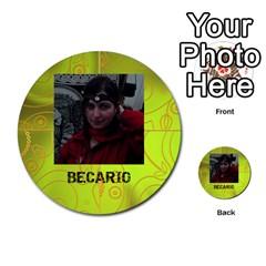 Carcayú By Javier Jimenez Escalante   Multi Purpose Cards (round)   Dbzkjf9l9xgg   Www Artscow Com Front 53