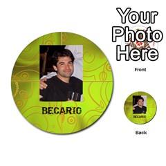 Carcayú By Javier Jimenez Escalante   Multi Purpose Cards (round)   Dbzkjf9l9xgg   Www Artscow Com Front 22