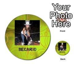 Carcayú By Javier Jimenez Escalante   Multi Purpose Cards (round)   Dbzkjf9l9xgg   Www Artscow Com Front 23