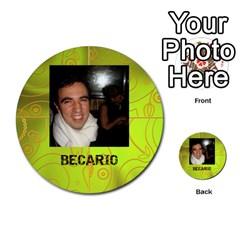 Carcayú By Javier Jimenez Escalante   Multi Purpose Cards (round)   Dbzkjf9l9xgg   Www Artscow Com Front 26