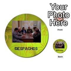 Carcayú By Javier Jimenez Escalante   Multi Purpose Cards (round)   Dbzkjf9l9xgg   Www Artscow Com Front 32