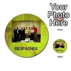 Carcayú By Javier Jimenez Escalante   Multi Purpose Cards (round)   Dbzkjf9l9xgg   Www Artscow Com Front 35