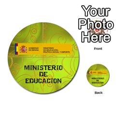 Carcayú By Javier Jimenez Escalante   Multi Purpose Cards (round)   Dbzkjf9l9xgg   Www Artscow Com Front 39