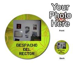 Carcayú By Javier Jimenez Escalante   Multi Purpose Cards (round)   Dbzkjf9l9xgg   Www Artscow Com Front 41