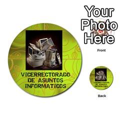 Carcayú By Javier Jimenez Escalante   Multi Purpose Cards (round)   Dbzkjf9l9xgg   Www Artscow Com Front 42