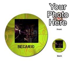 Carcayú By Javier Jimenez Escalante   Multi Purpose Cards (round)   Dbzkjf9l9xgg   Www Artscow Com Front 46