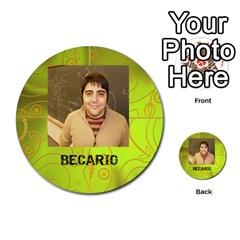 Carcayú By Javier Jimenez Escalante   Multi Purpose Cards (round)   Dbzkjf9l9xgg   Www Artscow Com Front 48