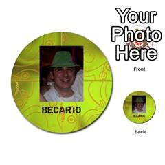 Carcayú By Javier Jimenez Escalante   Multi Purpose Cards (round)   Dbzkjf9l9xgg   Www Artscow Com Front 49
