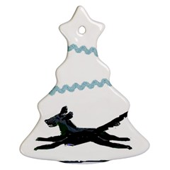 Around The Tree 2 By Riksu   Christmas Tree Ornament (two Sides)   1w6tuwp2awmf   Www Artscow Com Front