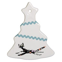 Around The Tree 2 By Riksu   Christmas Tree Ornament (two Sides)   1w6tuwp2awmf   Www Artscow Com Back