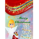 Angel Christmas card - Greeting Card 5  x 7