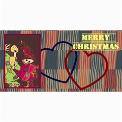 10  Modern Christmas  Cards(own Photo, Text) By Riksu   4  X 8  Photo Cards   S39toutbxizf   Www Artscow Com 8 x4 Photo Card - 7