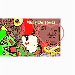 10  Modern Christmas  Cards(own Photo, Text) By Riksu   4  X 8  Photo Cards   S39toutbxizf   Www Artscow Com 8 x4 Photo Card - 8