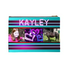 Kayleybag By Debbie Duke   Cosmetic Bag (large)   I8t8x2z9y16s   Www Artscow Com Back