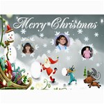 Winter scene Christmas Photo Card - 5  x 7  Photo Cards