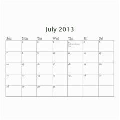 My Cal By Belinda Johnson   Wall Calendar 8 5  X 6    7oeui9lkh689   Www Artscow Com Jul 2013
