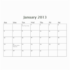 My Cal By Belinda Johnson   Wall Calendar 8 5  X 6    7oeui9lkh689   Www Artscow Com Jan 2013