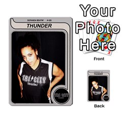Sb Thunder By Matthew Head   Multi Purpose Cards (rectangle)   Rnq2w9l5yyg3   Www Artscow Com Front 9