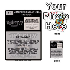 Mm Thunder By Matthew Head   Multi Purpose Cards (rectangle)   Puagis1sd8nb   Www Artscow Com Back 13